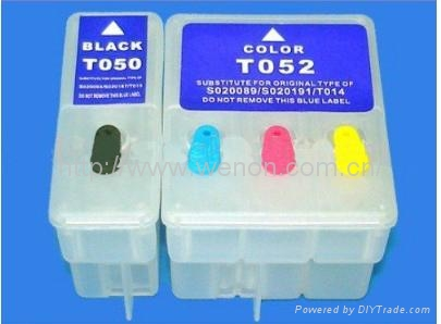 New refillable ink cartridge for Epson T25 TX125 TX120 TX420W S22 Me320 series 3