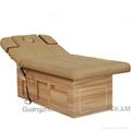 簡約實木電動美容床