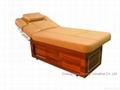 簡約實木電動美容床 2