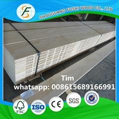 pine scaffolding board
