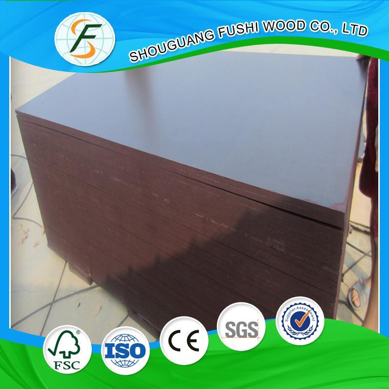 18mm poplar core film faced plywood 5