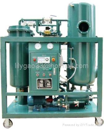 High Performance Steam Turbine Oil Dehydration & Filtration Machine