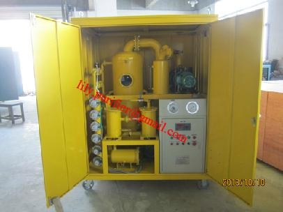 Weather-proof Double-stage Vacuum Transformer Oil Purifier  5