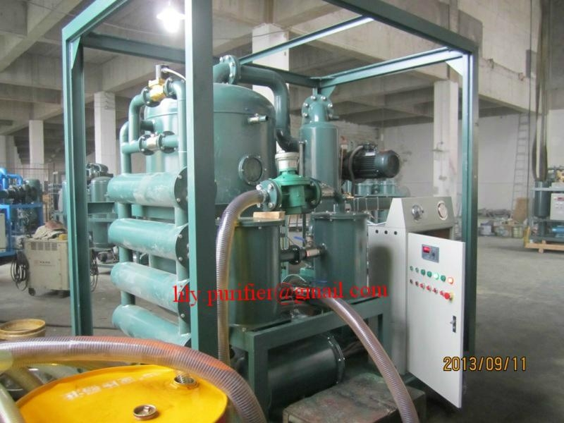 Weather-proof Double-stage Vacuum Transformer Oil Purifier  4