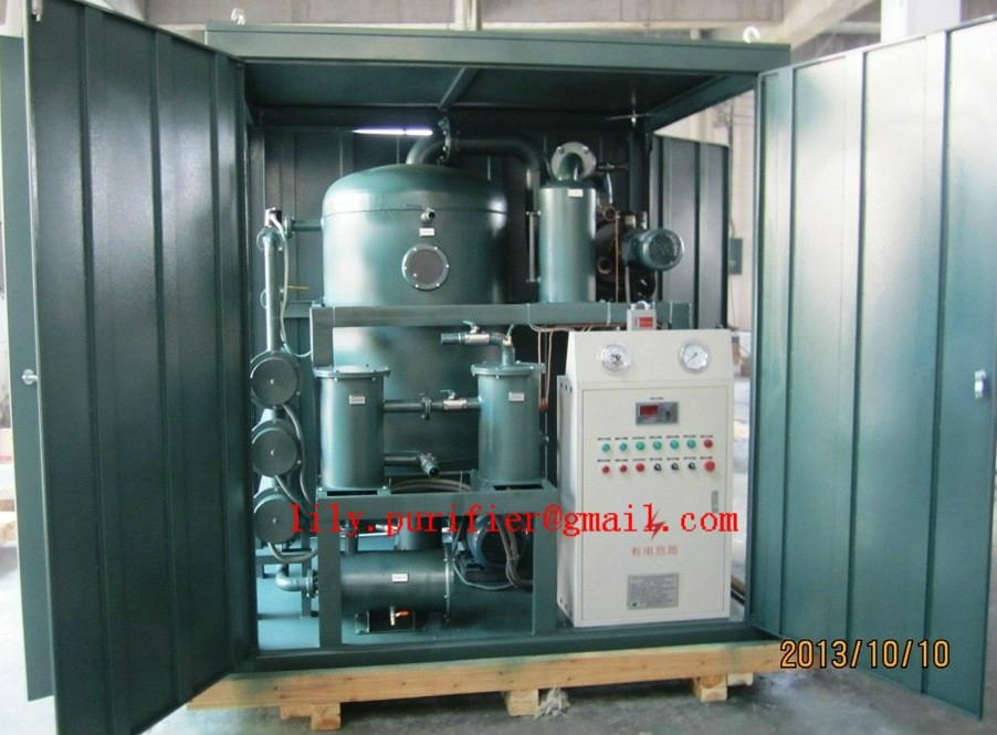 Weather-proof Double-stage Vacuum Transformer Oil Purifier  3
