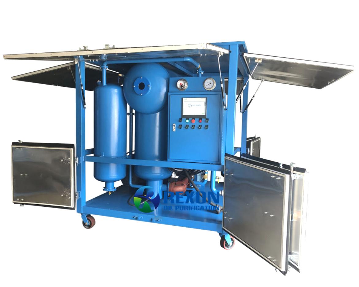 Double Stage Vacuum Transformer Oil Purifier 6000LPH