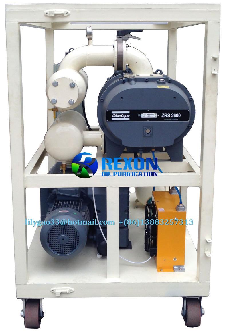Rexon Vacuum Pumping Set for Transformer Vacuum Pumping 3