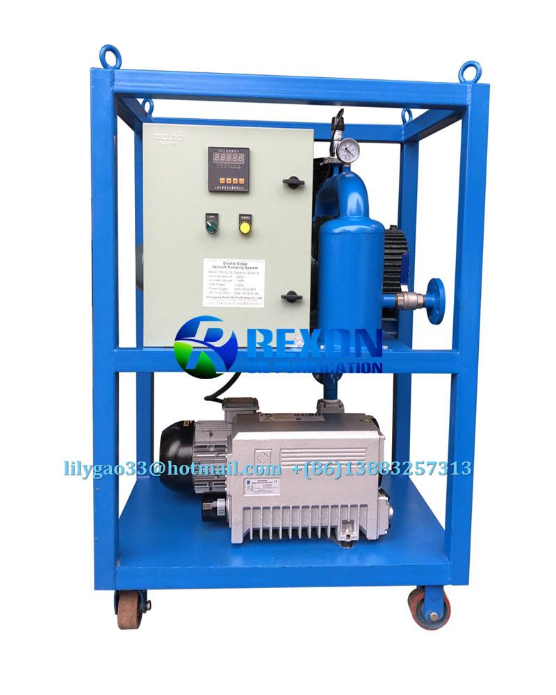 Vacuum Pumping Set and Transformer Evacuation System 1