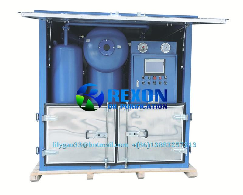 Double Stage High Vacuum Insulating Oil Regeneration System 2