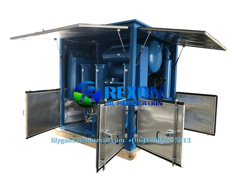 Double Stage High Vacuum Insulating Oil Regeneration System 1