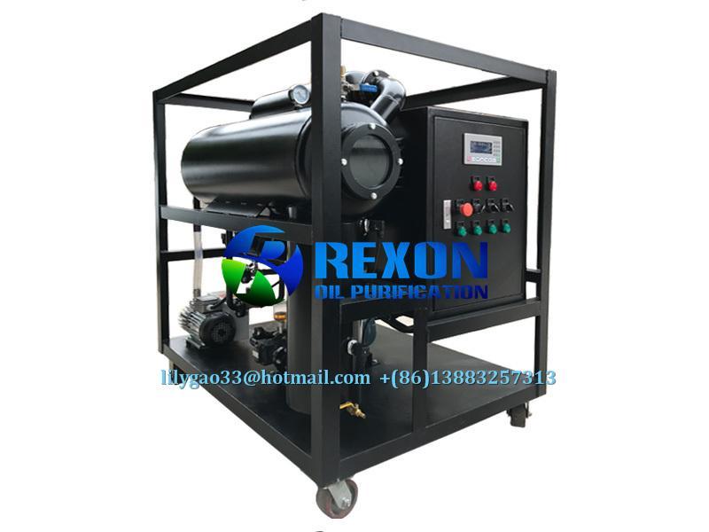 Small Size High Effective Vacuum Transformer Oil Purifier 2