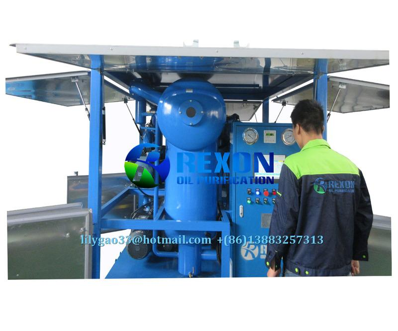 Ultra-High Voltage Insulating Oil Transformer Oil Treatment Plant 1