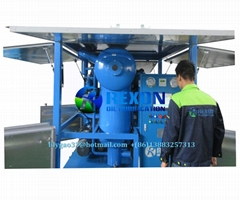 Ultra-High Voltage Insulating Oil Transformer Oil Treatment Plant