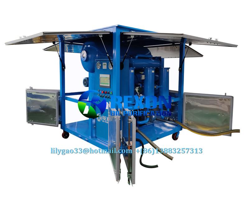 Ultra-High Voltage Insulating Oil Transformer Oil Treatment Plant 3