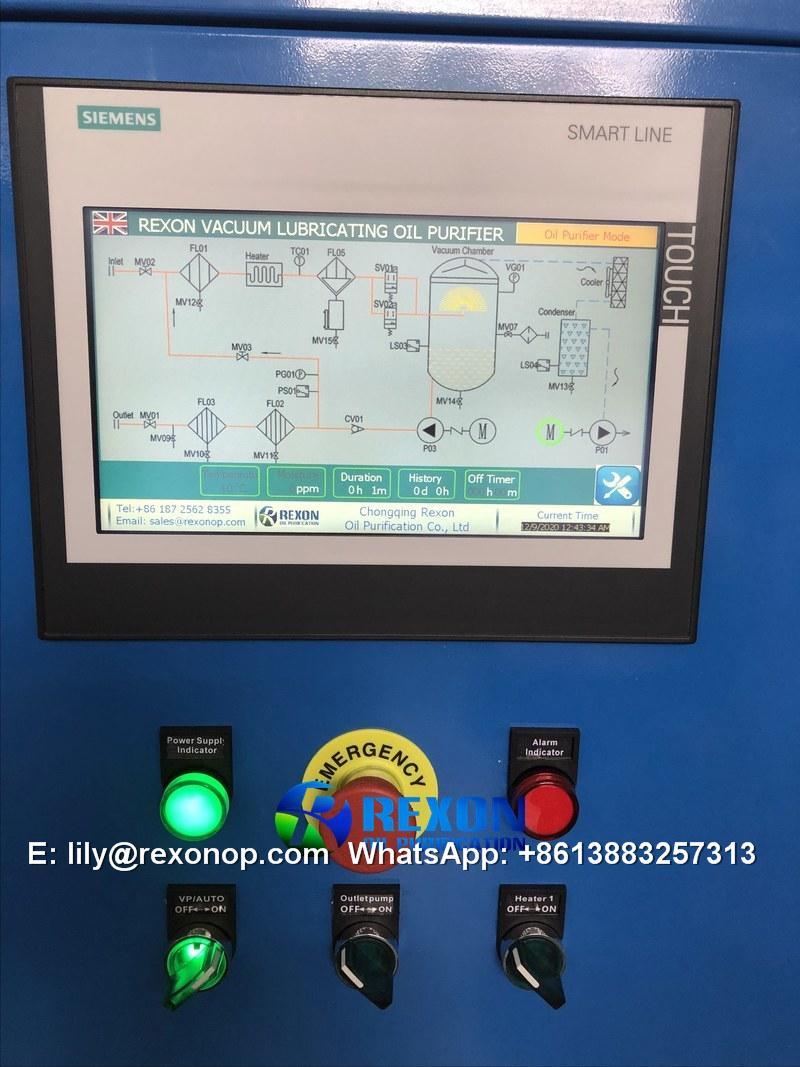 Lubricating Oil Purification Machine 3000LPH 2