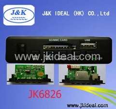 JK6826 Audio USB SD MP3 playback PCBA
