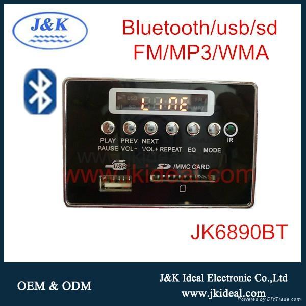 JK6890BT Audio USB SD MP3 player PCBA 1