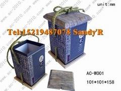 供應特級茶葉包裝木盒