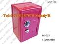 供應紅色消防箱造型存錢箱