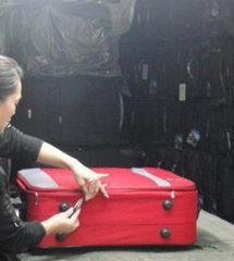 Suitcase inspection services in China