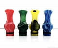 colorful PMMA 510 Drip tip with 4 colors
