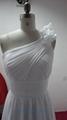 高檔熱銷希臘風格雪紡婚紗禮服 1