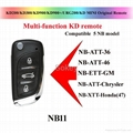 KEY DIY KD NB11 Multi-function remote