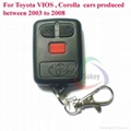High quality Toyota corolla VIOS  car key,315MHz 1