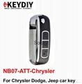 NB07-ATT-Chrysler NB series remote for