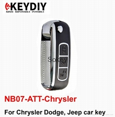 NB07-ATT-Chrysler NB series remote for KEY DIY  machine with good price