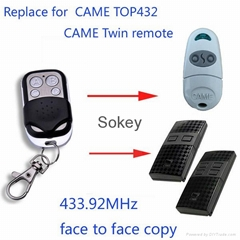 Aftermarket remote for CAME TOP432 remote and CAME Twin remote