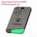 High quality Renault Laguna smart card PCF7947 transponder chip, 434Mhz 2