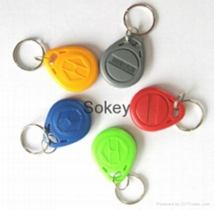 125KHz RFID key fob tag with competitive price