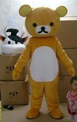 轻松熊卡通服装