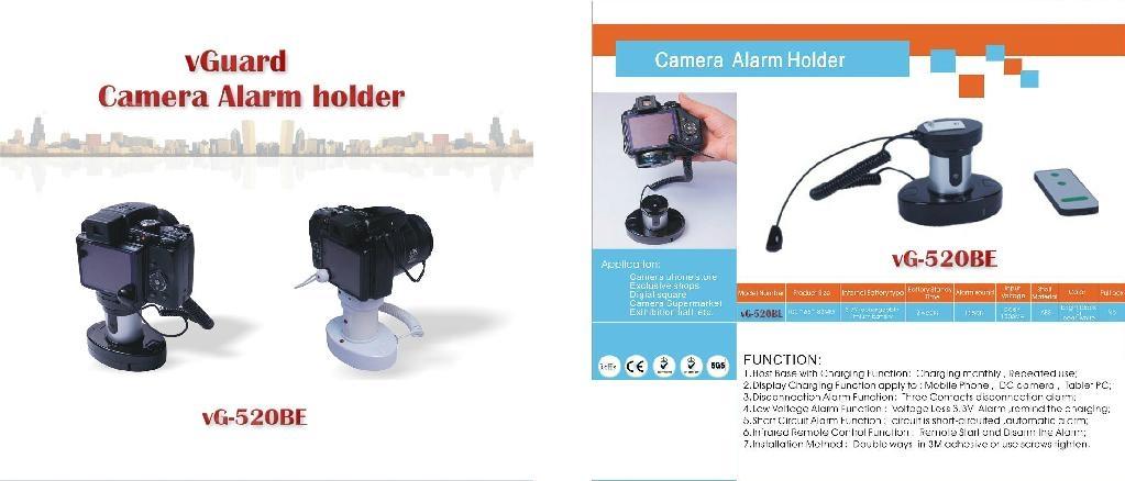 相機展示防盜報警器vG-STA520EB 3