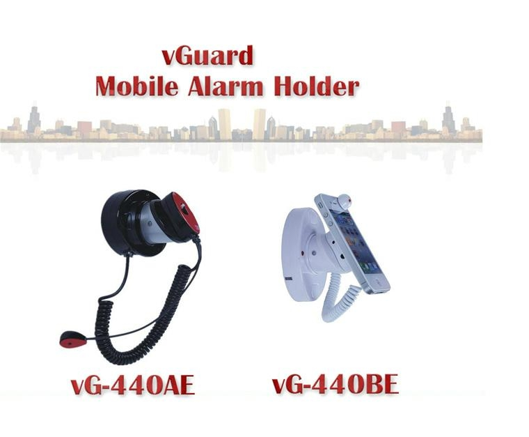 手機展示架-展示防盜報警器-智能鋰充電vG-STA440EB 3
