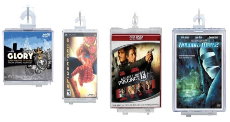 EAS保護盒防盜標籤-CD防盜保護盒vG-F5202 5