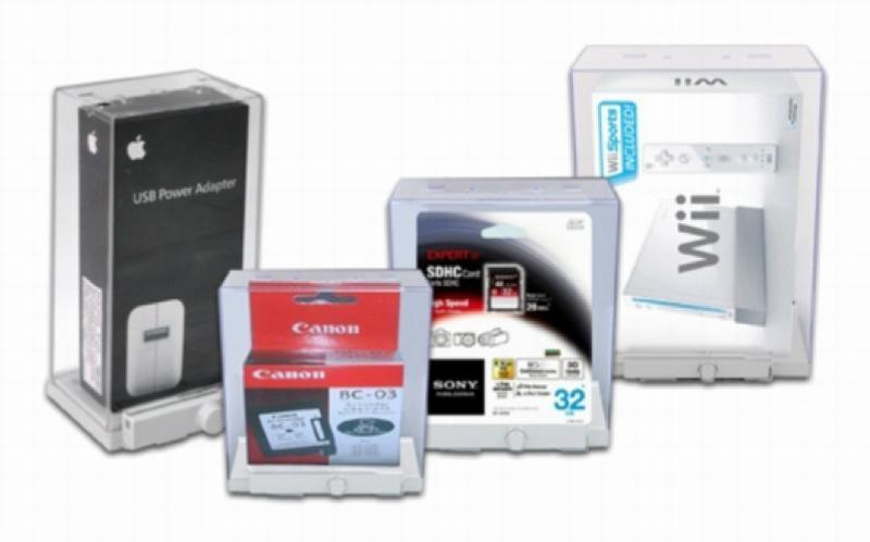 EAS保护盒防盗标签-精美小件物品防盗保护盒vG-702 5
