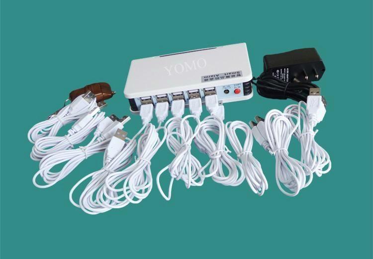 遙控一拖八斷線報警器 展品防盜器 手機防盜器 平板電腦防盜器 2
