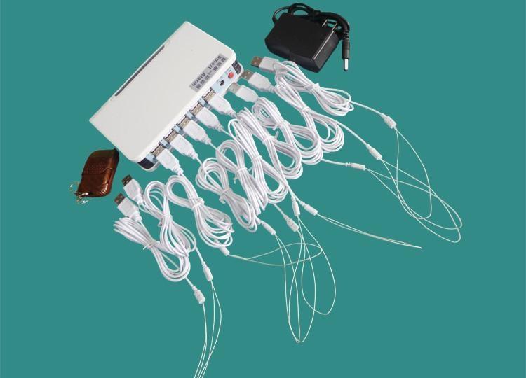 遥控一拖八断线报警器 展品防盗器 手机防盗器 平板电脑防盗器 5