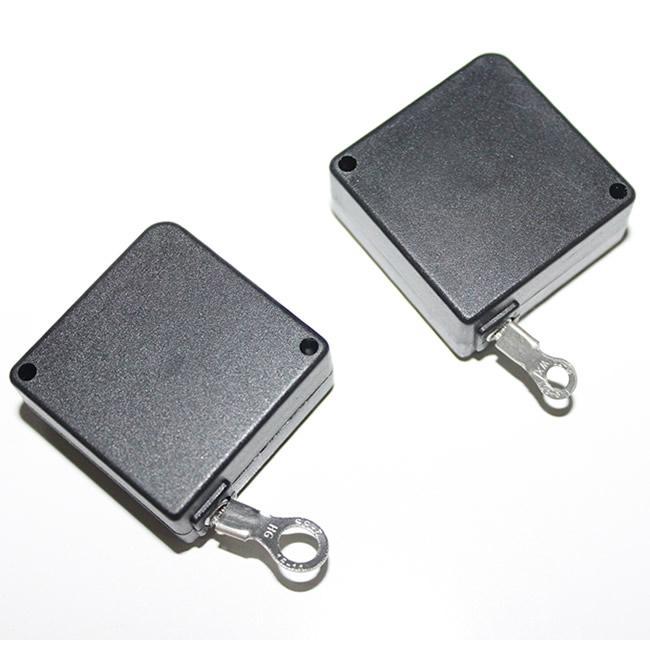 Anti-theft retractor pullbox  Retail Display Pull Box, Recoiler, Retactor Tether 1