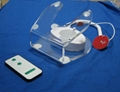 Acrylic Security display holder for IPad with Charge And Alarm