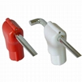 Retail display Hook Stop Lock for security display hooks