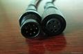 8芯LED燈具防水連接線