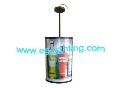 LED圓形旋轉燈箱 1