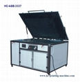 UV exposure unit for screen plate