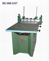Manual screen printer with Vacuum table