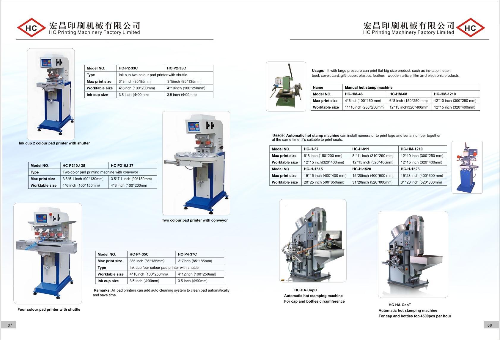screen printer, pad printer, hot stamp machine, heat transfer machine, sublimat 4
