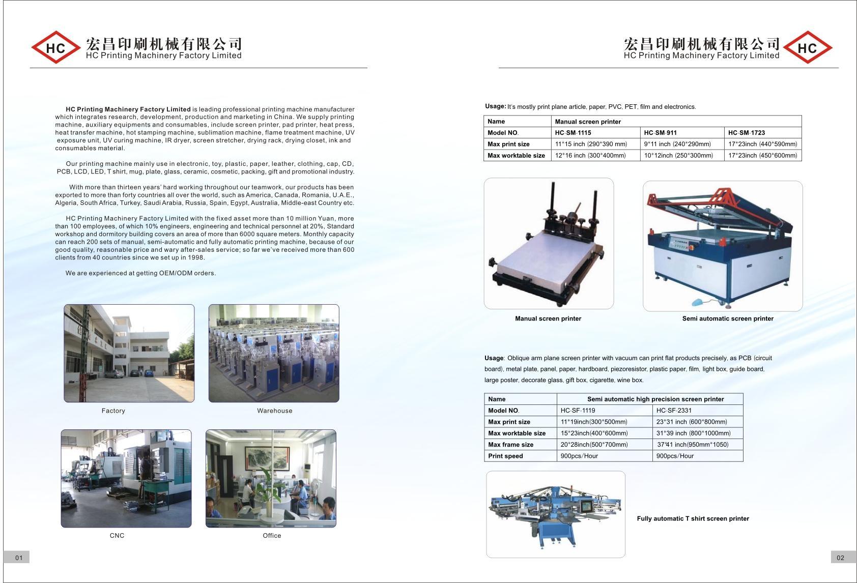 screen printer, pad printer, hot stamp machine, heat transfer machine, sublimat 5