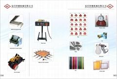 Dic ink, UV ink, pad printing accessories, screen printing accessories, foil, he